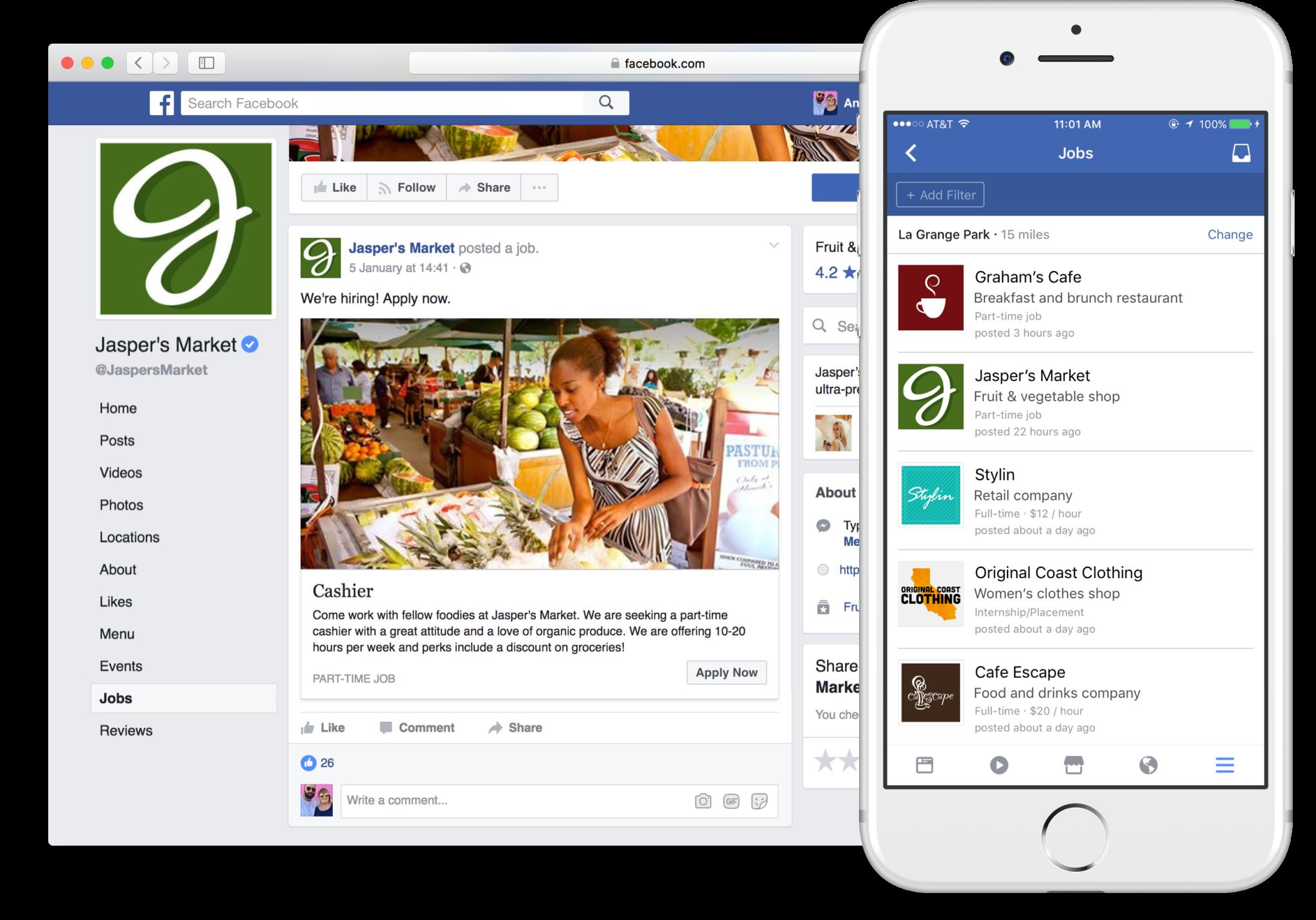 Read more about the article Usaria o seu perfil Facebook para enviar candidaturas a vagas de emprego?