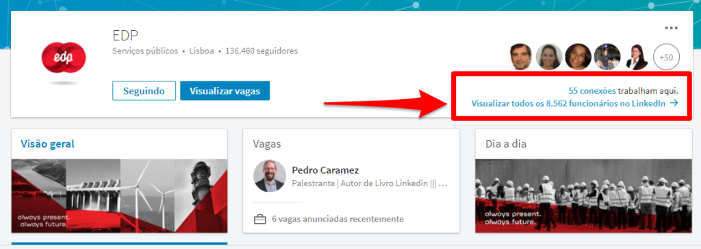 EDP Linkedin
