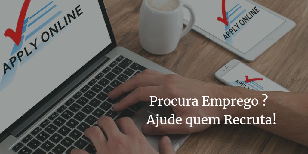 Read more about the article Procura emprego? Ajude quem está a recrutar!
