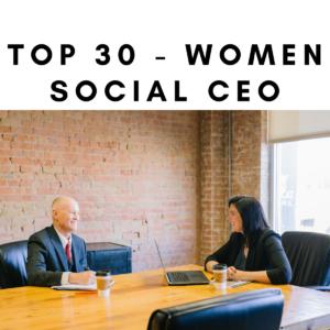 Top 30 - Women Social CEO