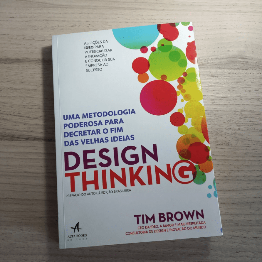 5 livros de RH que todo profissional de Recursos Humanos deve ler - Dicas linkedin - Pedro Caramez - livro design thinking