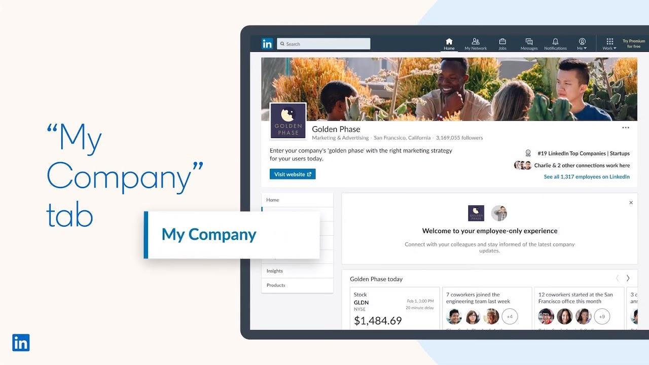 """Saiba mais sobre a nova Guia """"Minha Empresa"""" no Linkedin"""
